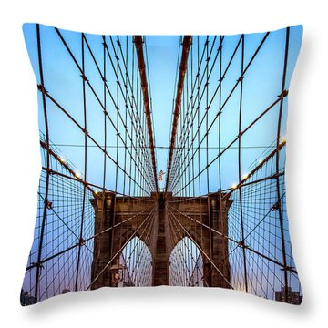 Web Of Passion Throw Pillow
