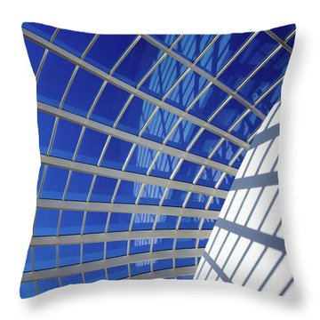Throw Pillow featuring the photograph Web by Stefan Nielsen