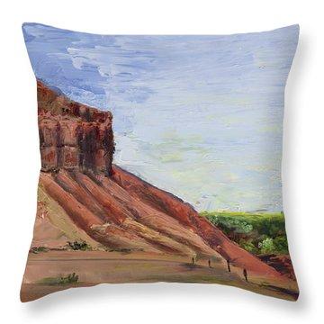 Weber Sandstone Throw Pillow