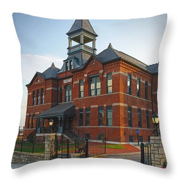 Webster House Throw Pillow