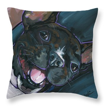 Webster Throw Pillow by Nadi Spencer