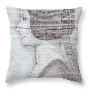 Wedding Bride Throw Pillow