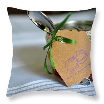 Wedding Take Home Gift Throw Pillow
