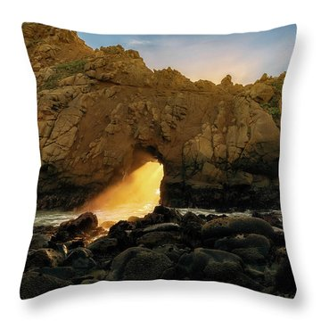Wedge Of Light Throw Pillow