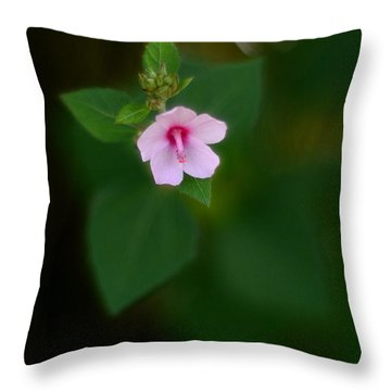 Weed Flower 907 Throw Pillow