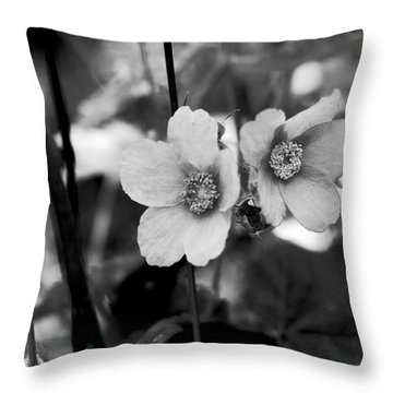 Weeds 1 Throw Pillow