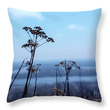 Weeds Throw Pillow