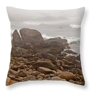 Weekapaug Panorama Throw Pillow