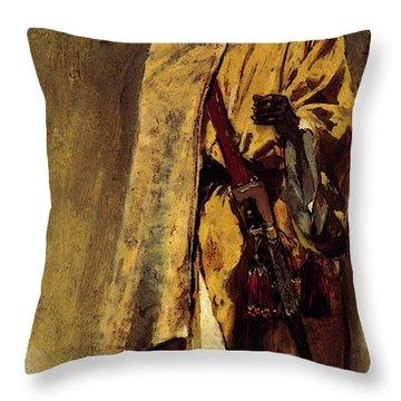 Weeks Edwin Moorish Guard Throw Pillow