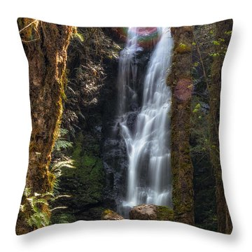 Weeping Angel Throw Pillow by James Heckt