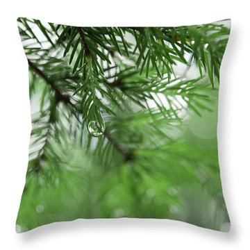 Weeping Pine 2 Throw Pillow