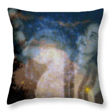 Wehewehe Moeuhane Throw Pillow by Kenneth Grzesik