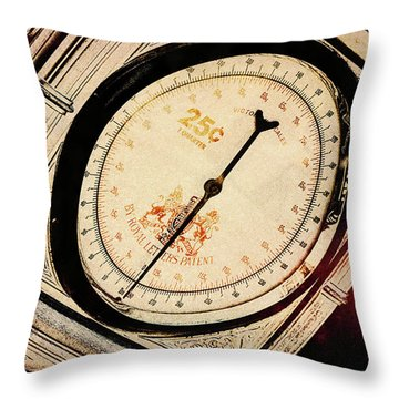 Throw Pillow featuring the photograph Weight For It by Michael Hope