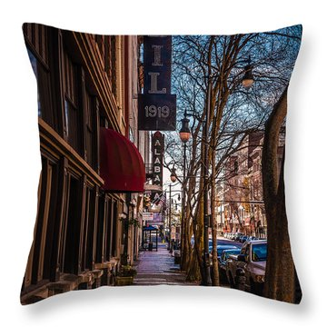 Weil Furs  Throw Pillow by Phillip Burrow