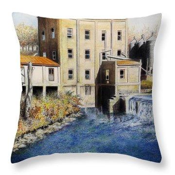 Weisenberger Mill Throw Pillow