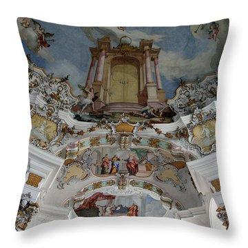 Weiskirke Church Throw Pillow