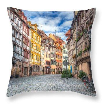 Weissgerbergasse Throw Pillow