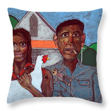 Welcome Home America Throw Pillow