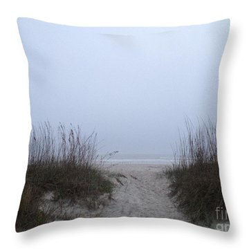 Throw Pillow featuring the photograph Welcome by LeeAnn Kendall