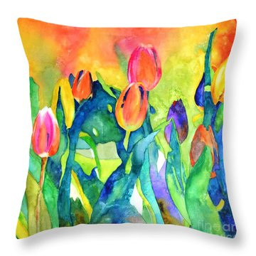 Welcome Spring #1 Throw Pillow