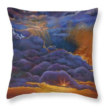 Welcome The Night Throw Pillow