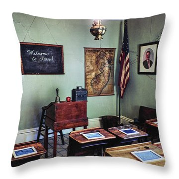Welcome To Class 1901 Throw Pillow