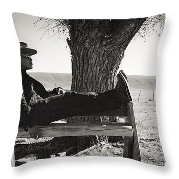 Welcome To Flavor Country Throw Pillow