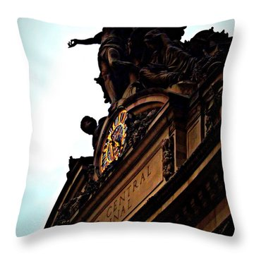 Welcome To Grand Central Throw Pillow