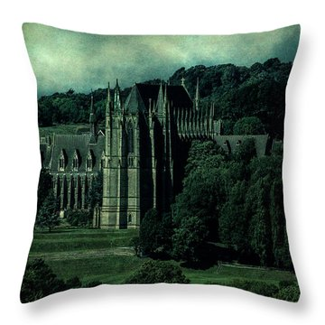 Throw Pillow featuring the photograph Welcome To Wizardry School by Chris Lord