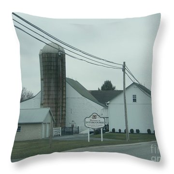 Welcome To Intercourse, Pa Throw Pillow