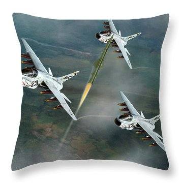Welcome To North Vietnam Throw Pillow
