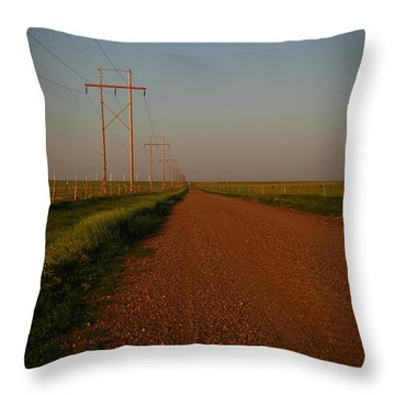 Welcome To Texas Throw Pillow