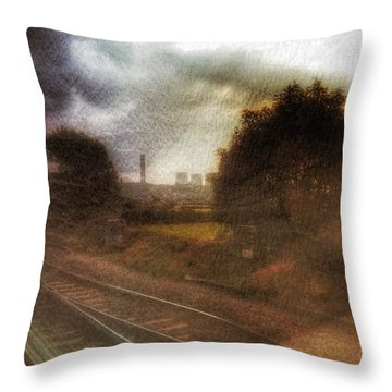 Throw Pillow featuring the photograph Welcome To The North by Isabella F Abbie Shores FRSA