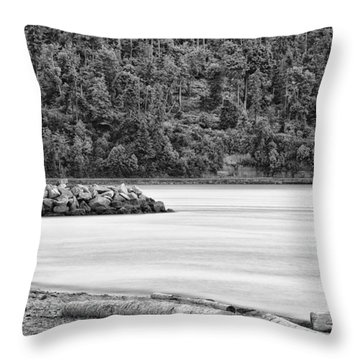 Port Of Vancouver Throw Pillows