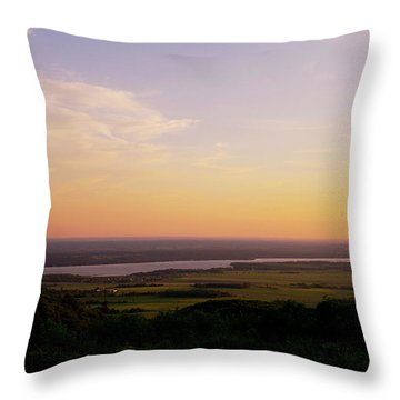 Welcome To The Valley Throw Pillow