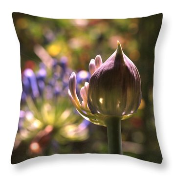 Welcome To The World Throw Pillow by Rona Black