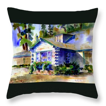 Welcome Window Throw Pillow
