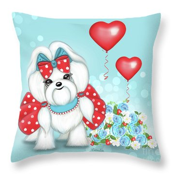 Welcome With Love  Throw Pillow
