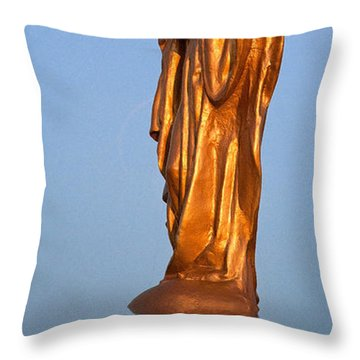 Welcoming 2 Throw Pillow