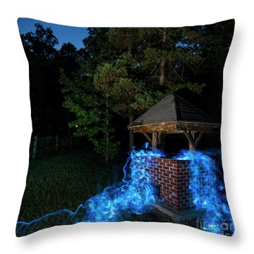 Well Color Throw Pillow