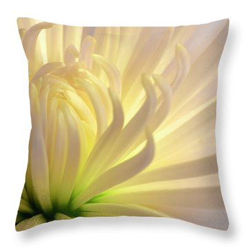 Well Lit Mum Throw Pillow