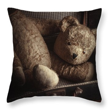Well-loved Throw Pillow