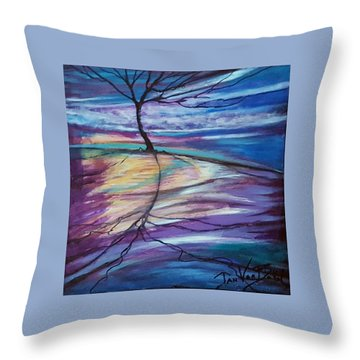 Well Rooted Throw Pillow