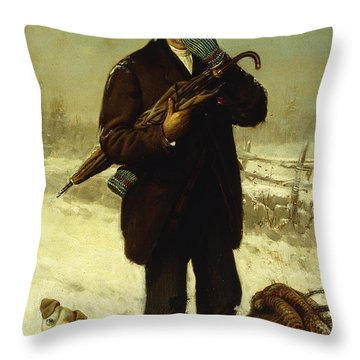 Well, Upon My Word Throw Pillow
