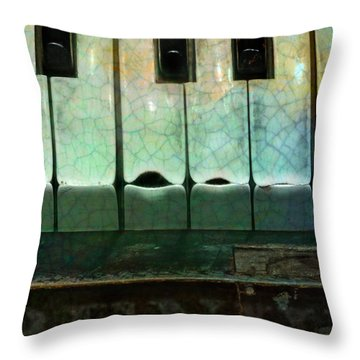 Well-worn Throw Pillow