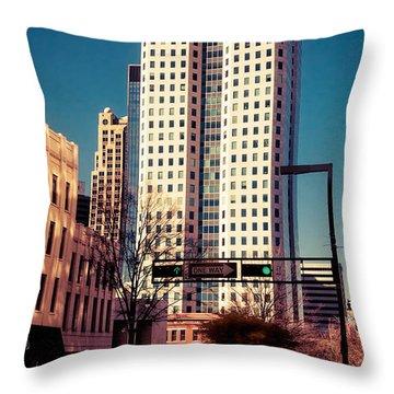 Wells Fargo Throw Pillow by Phillip Burrow