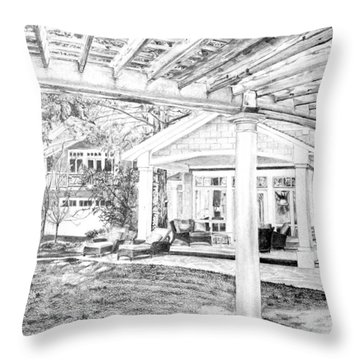 Wendy's House Throw Pillow