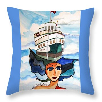 Wenonah 2  Throw Pillow