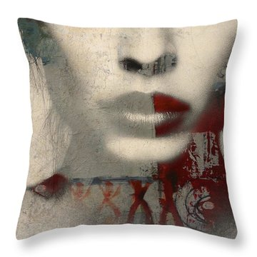 Were All Alone  Throw Pillow