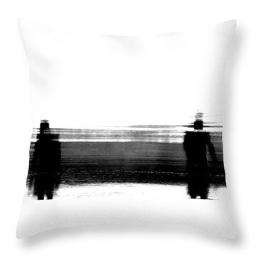 We're Done Throw Pillow